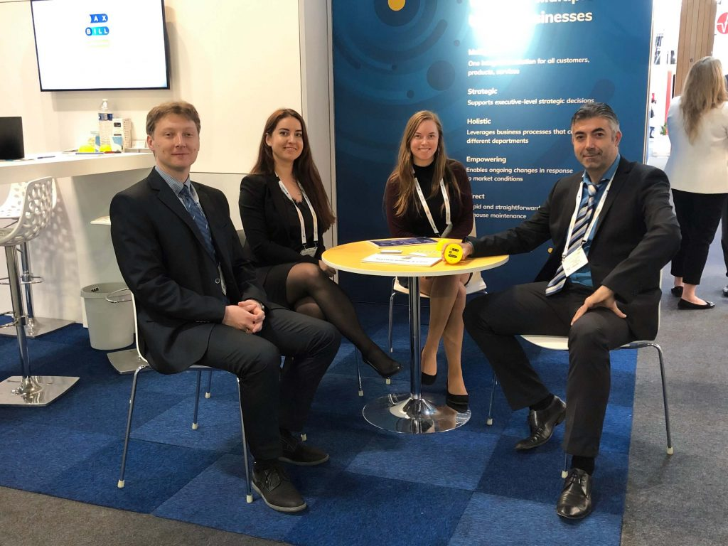 The MaxBill team visits EUW 2019