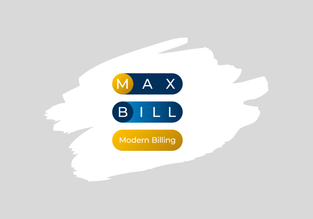 MaxBill reveals the new logo