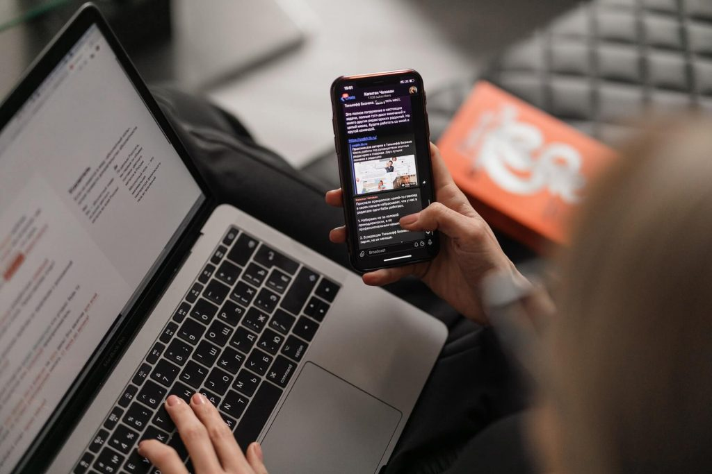 smartphone laptop telecommunications