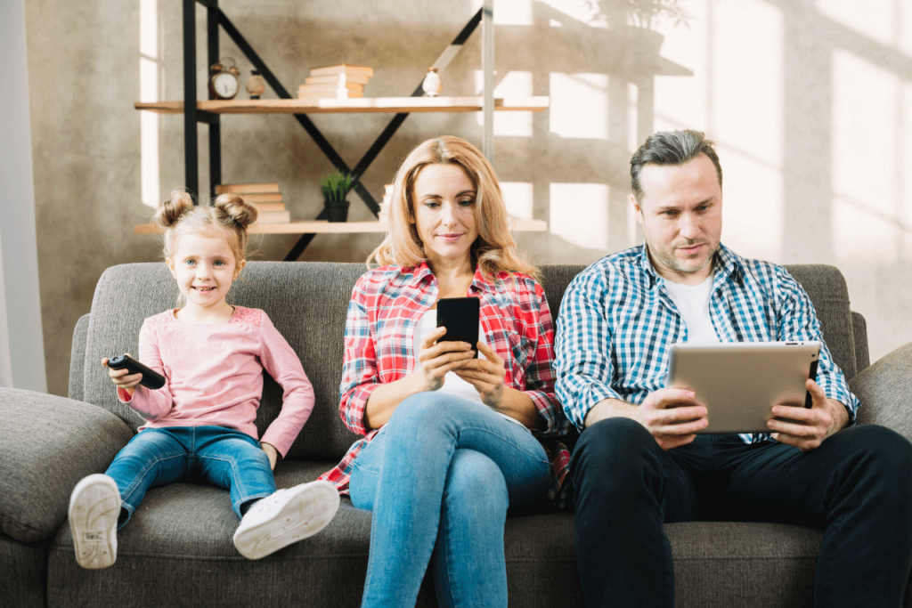 Family TV Watching